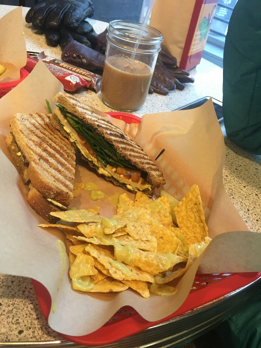 """Photo of VO2 Vegan Cafe  by <a href=""""/members/profile/770veg"""">770veg</a> <br/>The North End <br/> December 17, 2017  - <a href='/contact/abuse/image/34862/336503'>Report</a>"""