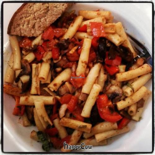 """Photo of CLOSED: Garden Grill Cafe  by <a href=""""/members/profile/PatHandley"""">PatHandley</a> <br/>Three Mushroom Ziti <br/> October 30, 2012  - <a href='/contact/abuse/image/34869/39596'>Report</a>"""