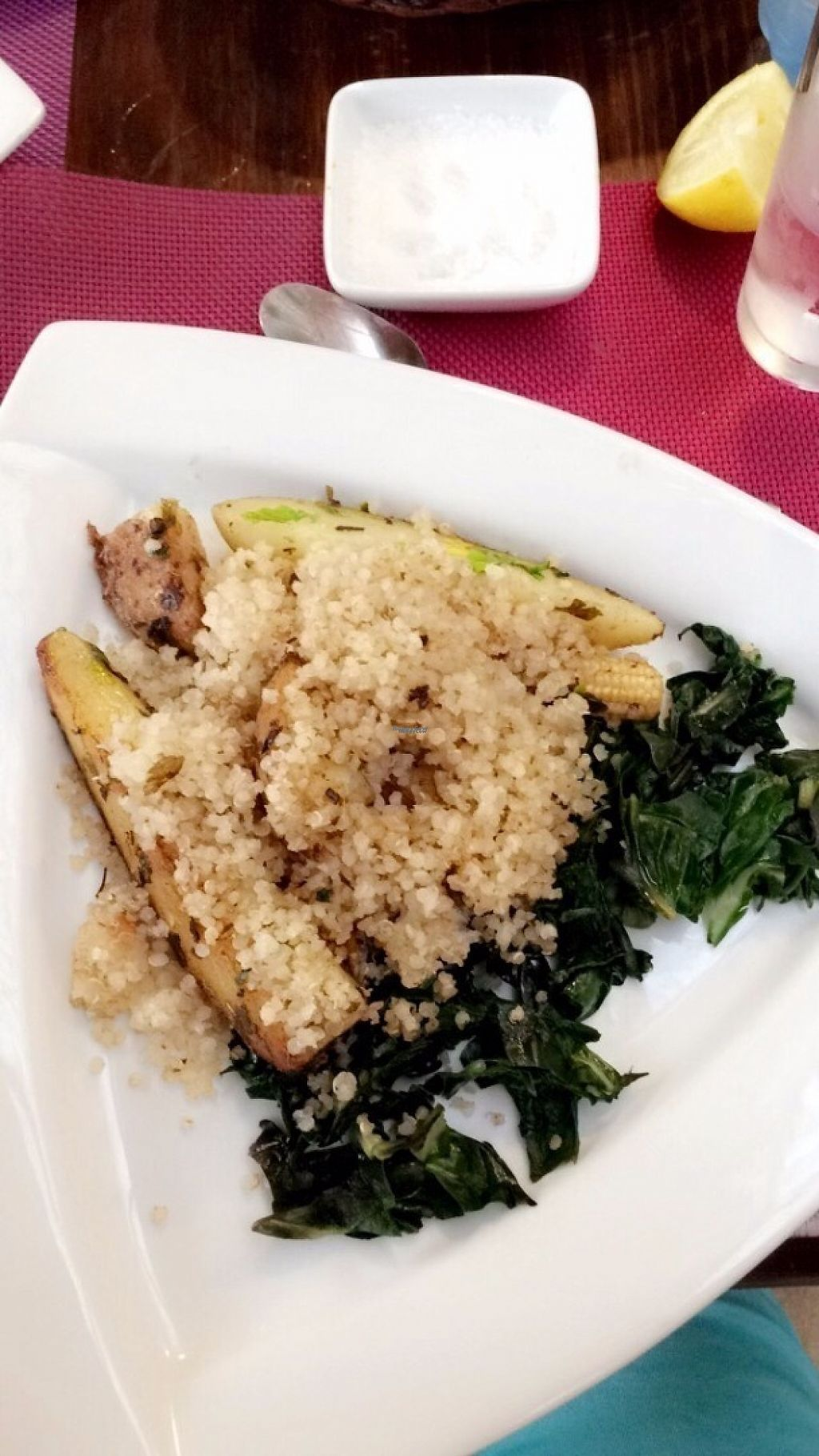 """Photo of Innatura  by <a href=""""/members/profile/SofiaC"""">SofiaC</a> <br/>Quinoa with spinach and potatoes <br/> February 7, 2017  - <a href='/contact/abuse/image/34908/223976'>Report</a>"""