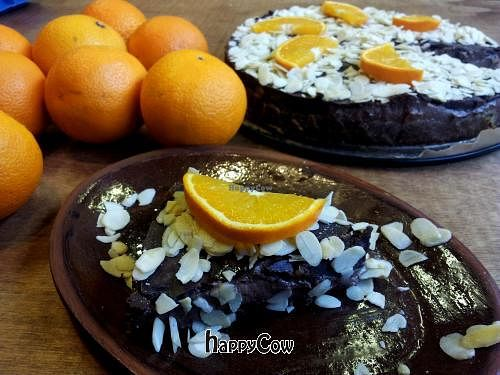 """Photo of Mahemarket and Cafe  by <a href=""""/members/profile/KrisVeinberg"""">KrisVeinberg</a> <br/>Raw choclate cake <br/> October 24, 2012  - <a href='/contact/abuse/image/34916/39397'>Report</a>"""