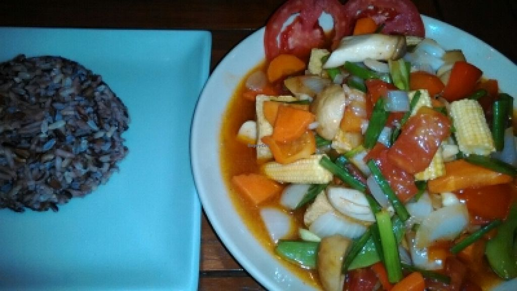 "Photo of Anchan Vegetarian Restaurant  by <a href=""/members/profile/LilacHippy"">LilacHippy</a> <br/>Tofu sweet and sour <br/> May 5, 2016  - <a href='/contact/abuse/image/34920/147608'>Report</a>"