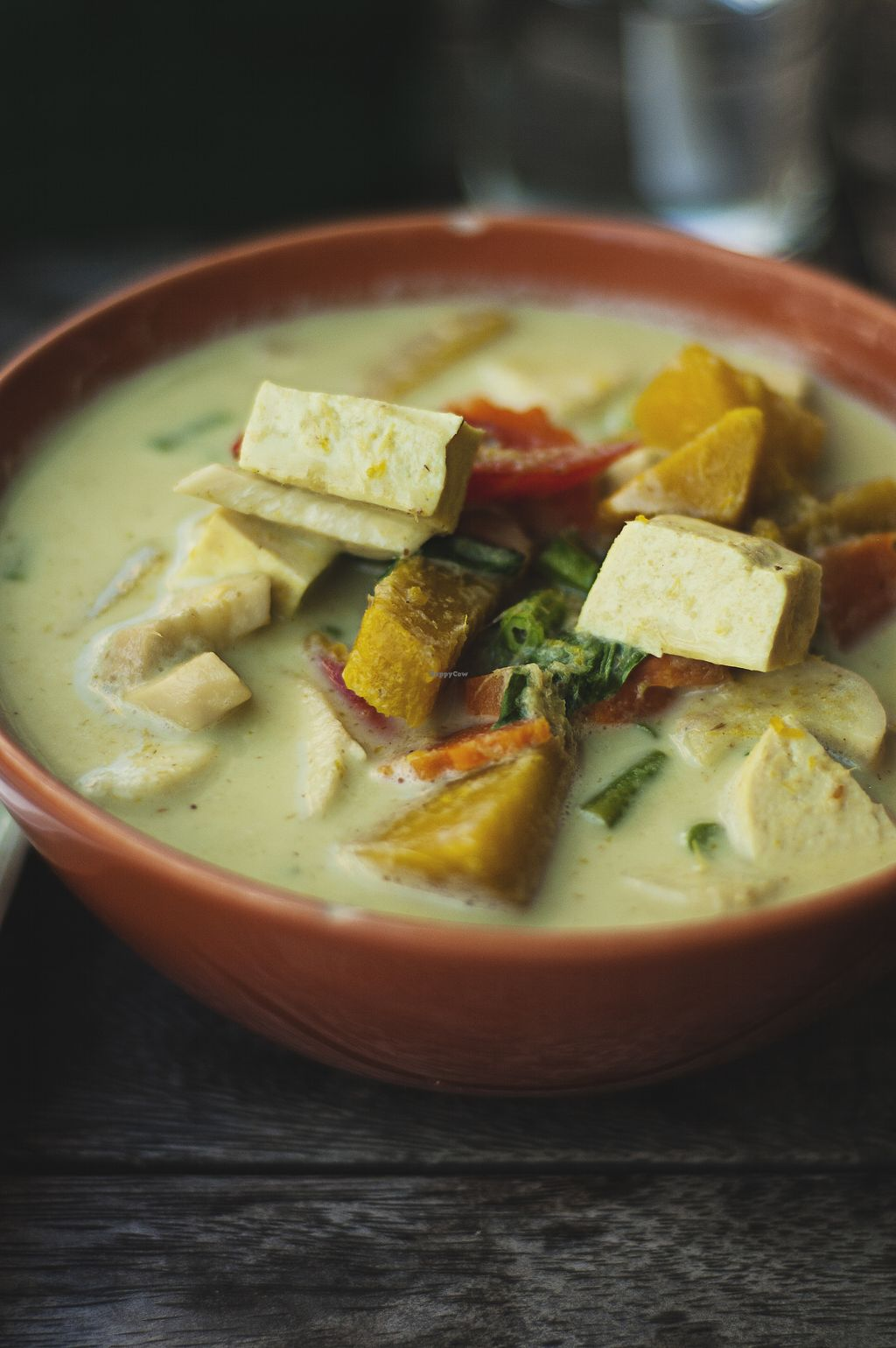 "Photo of Anchan Vegetarian Restaurant  by <a href=""/members/profile/peasandunderstanding"">peasandunderstanding</a> <br/>Gorgeous Pumpkin Green Curry  <br/> April 28, 2018  - <a href='/contact/abuse/image/34920/391972'>Report</a>"