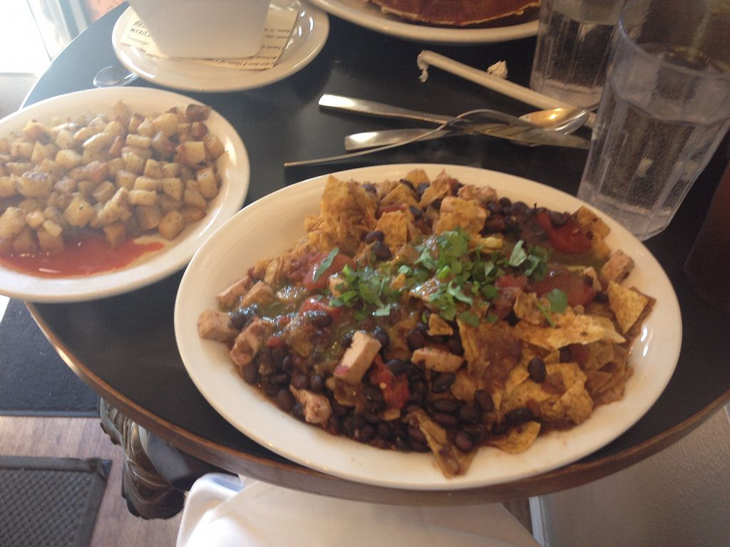 """Photo of The Catalyst Cafe  by <a href=""""/members/profile/AutumnTierra"""">AutumnTierra</a> <br/>Chilaquiles  <br/> July 3, 2017  - <a href='/contact/abuse/image/34926/276410'>Report</a>"""