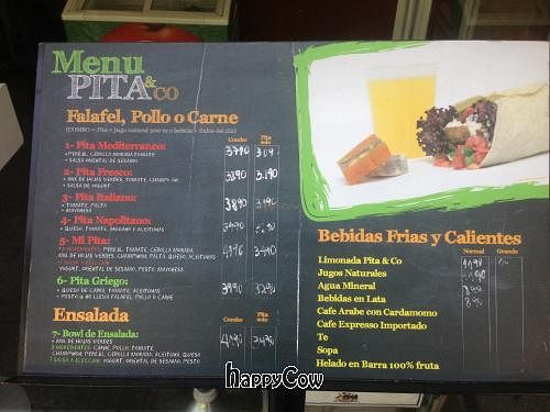 """Photo of CLOSED: Pita and Co  by <a href=""""/members/profile/Navigator"""">Navigator</a> <br/>Menu as of January 2013. Prices are in Chilean Pesos (10,000 pesos + about $21USD) <br/> February 22, 2013  - <a href='/contact/abuse/image/34951/44512'>Report</a>"""