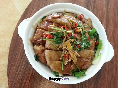 """Photo of Pu Kwong  by <a href=""""/members/profile/chibot"""">chibot</a> <br/>Crispy skin chicken $13.90 <br/> October 28, 2013  - <a href='/contact/abuse/image/3495/57511'>Report</a>"""