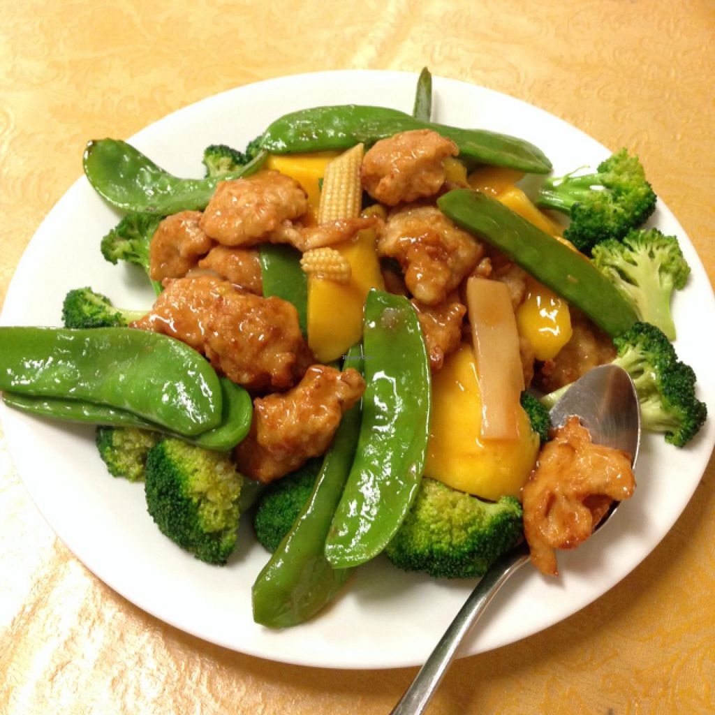 """Photo of Pu Kwong  by <a href=""""/members/profile/Kieli"""">Kieli</a> <br/>Summer Special! Greens, mango & veggie chicken! <br/> January 8, 2014  - <a href='/contact/abuse/image/3495/62074'>Report</a>"""