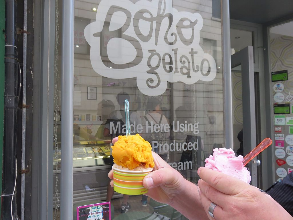 "Photo of Boho Gelato  by <a href=""/members/profile/TrudiBruges"">TrudiBruges</a> <br/>vegan icecream!  <br/> November 30, 2017  - <a href='/contact/abuse/image/34961/330795'>Report</a>"