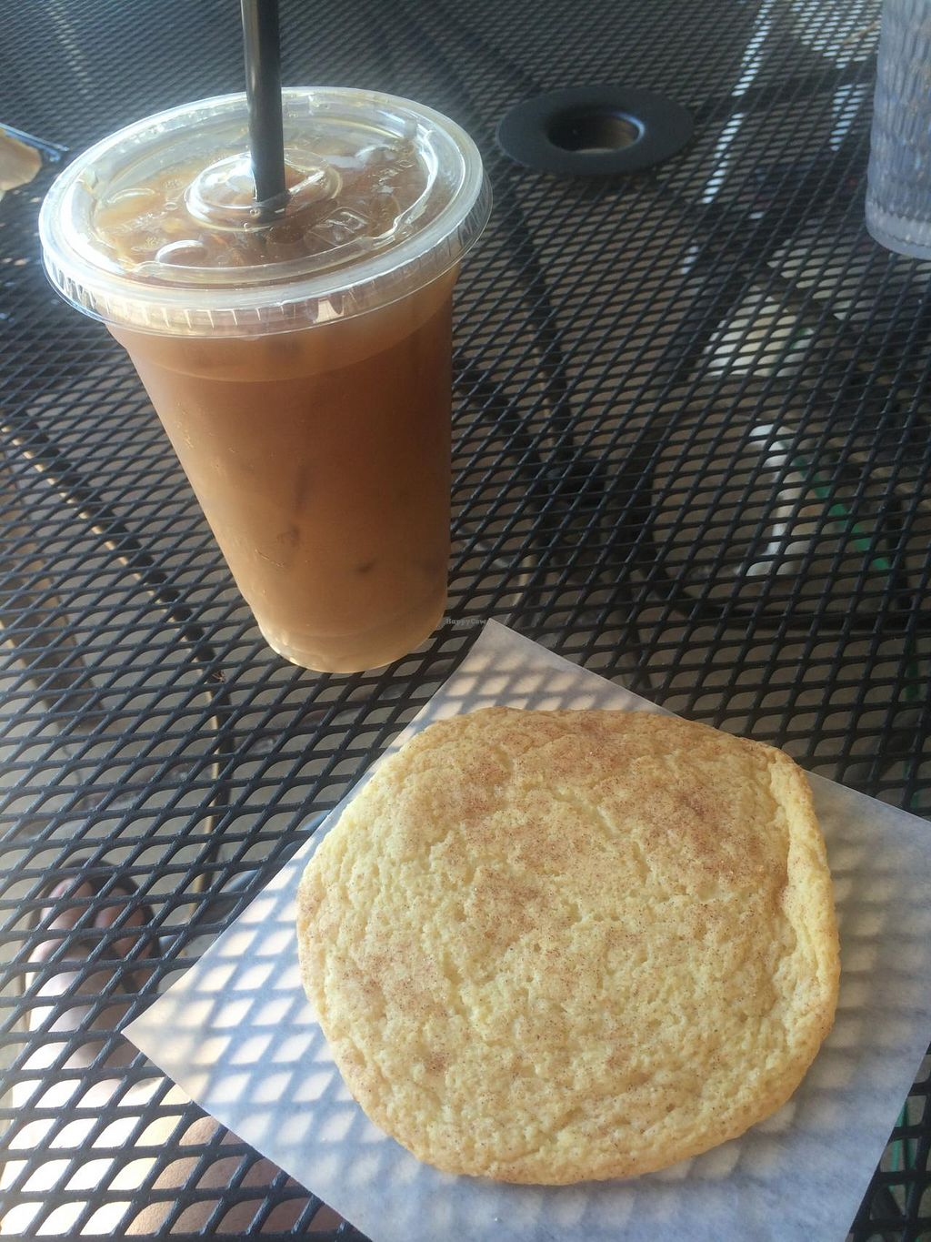 "Photo of Grounds For Coffee  by <a href=""/members/profile/Meggie%20and%20Ben"">Meggie and Ben</a> <br/>Coffee and vegan snickerdoodle  <br/> September 27, 2014  - <a href='/contact/abuse/image/34969/81328'>Report</a>"