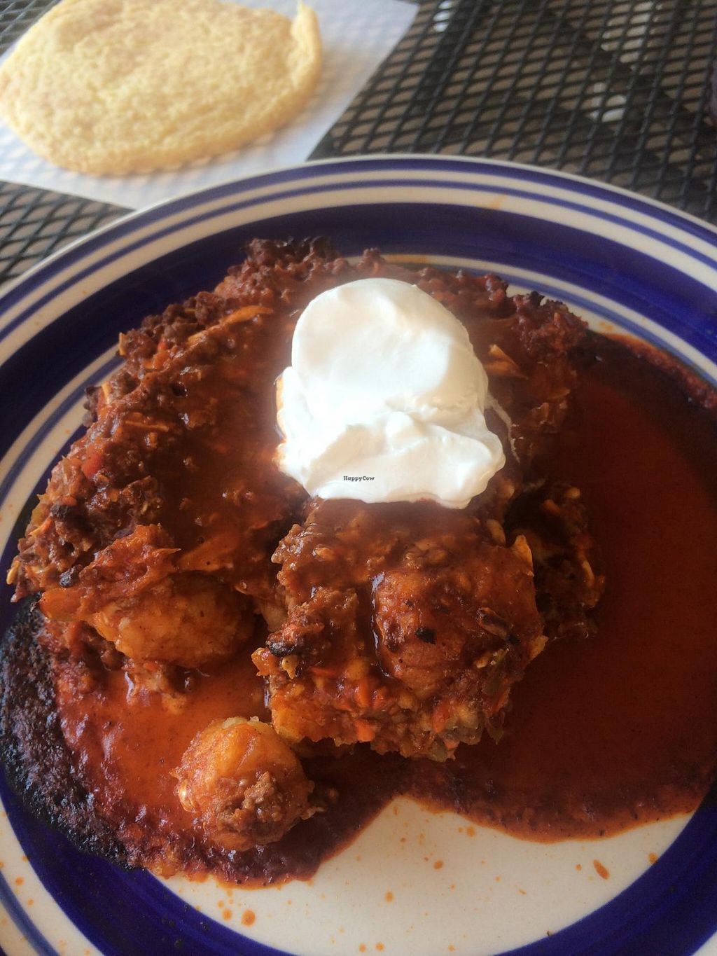 "Photo of Grounds For Coffee  by <a href=""/members/profile/Meggie%20and%20Ben"">Meggie and Ben</a> <br/>'Sloppy tots' - Tater tots with sloppy joe filling on top. Surprisingly delicious!  <br/> September 27, 2014  - <a href='/contact/abuse/image/34969/81329'>Report</a>"