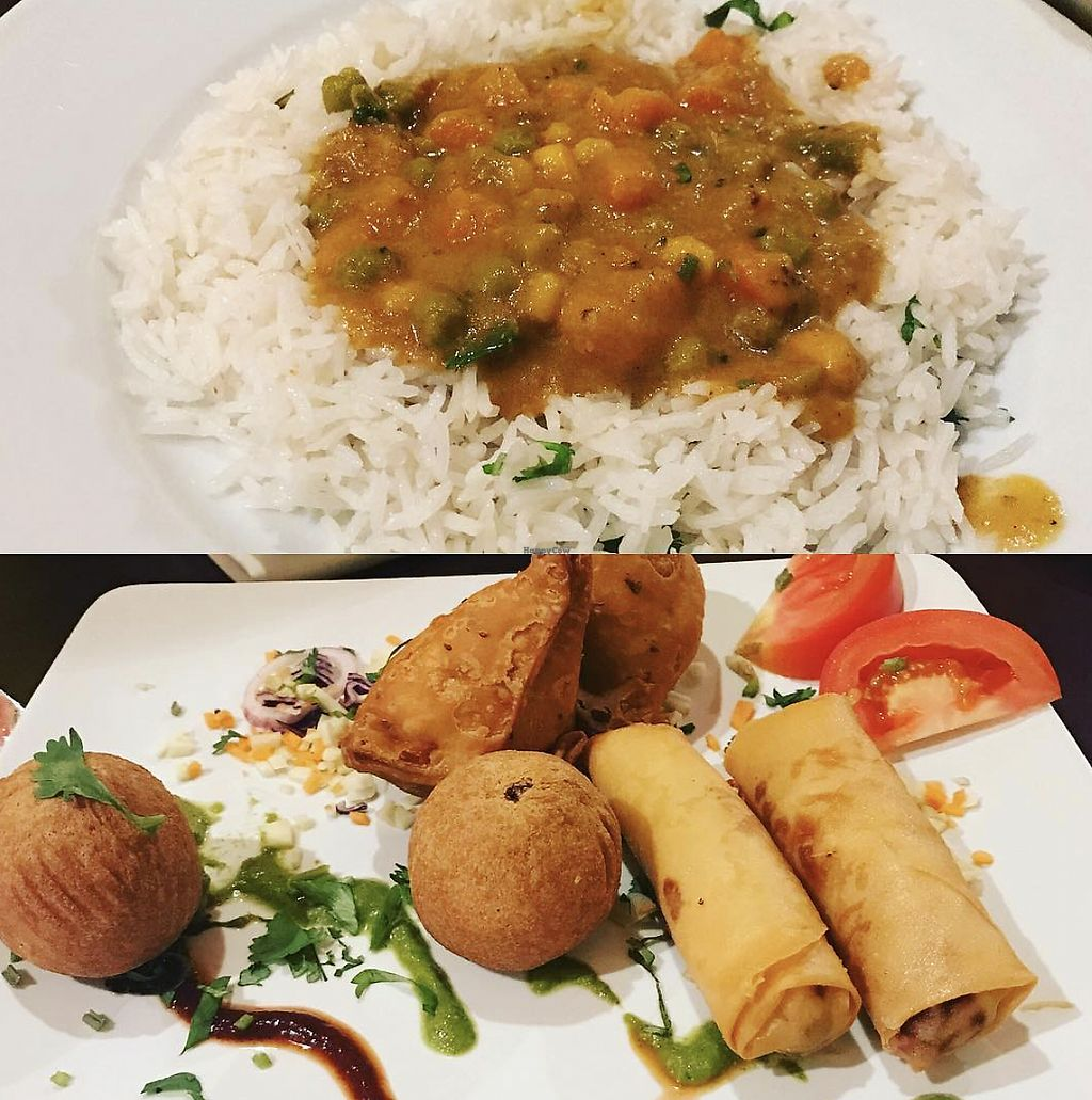 """Photo of Namaste India  by <a href=""""/members/profile/TheAccessibleVegan"""">TheAccessibleVegan</a> <br/>Indian Curry <br/> August 3, 2017  - <a href='/contact/abuse/image/34973/288296'>Report</a>"""
