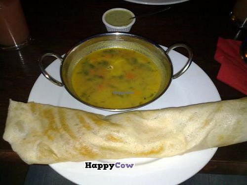 """Photo of Namaste India  by <a href=""""/members/profile/SplashWellyKid"""">SplashWellyKid</a> <br/>Namaste - Masala Dosa <br/> October 9, 2013  - <a href='/contact/abuse/image/34973/56455'>Report</a>"""