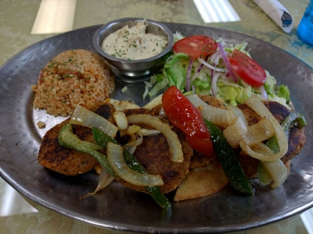 """Photo of Smyrna Mediterranean Cuisine  by <a href=""""/members/profile/VeganSoapDude"""">VeganSoapDude</a> <br/>Vegan kofta  <br/> April 15, 2016  - <a href='/contact/abuse/image/35023/144689'>Report</a>"""