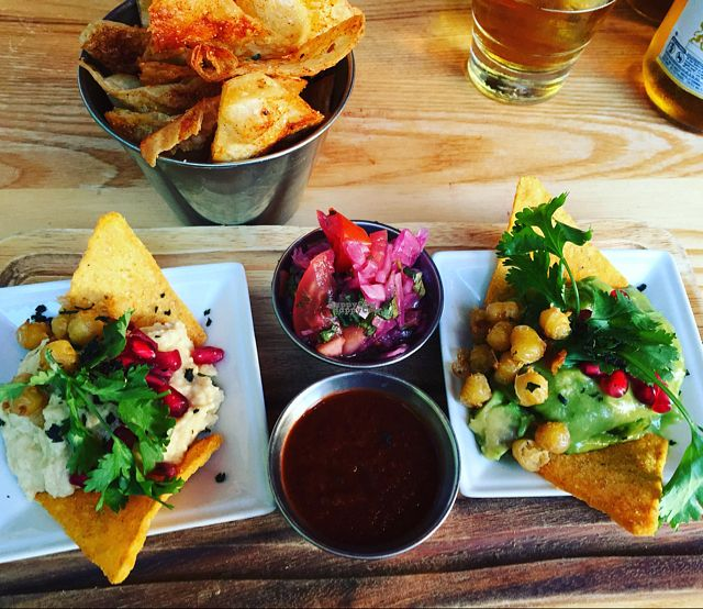 """Photo of The Mex  by <a href=""""/members/profile/Packham"""">Packham</a> <br/>veggie/vegan combo starter  <br/> September 5, 2016  - <a href='/contact/abuse/image/35026/173825'>Report</a>"""