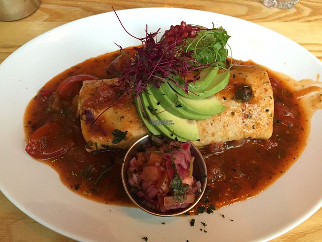 """Photo of The Mex  by <a href=""""/members/profile/Packham"""">Packham</a> <br/>vegan burrito <br/> September 5, 2016  - <a href='/contact/abuse/image/35026/173826'>Report</a>"""