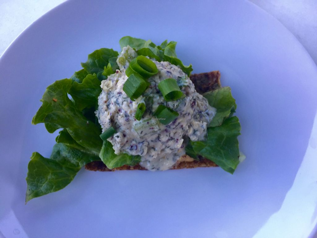 "Photo of CLOSED: Greens and Vines  by <a href=""/members/profile/Kkijowski"">Kkijowski</a> <br/>Not Tuna on Onion Bread <br/> March 15, 2016  - <a href='/contact/abuse/image/35034/140109'>Report</a>"