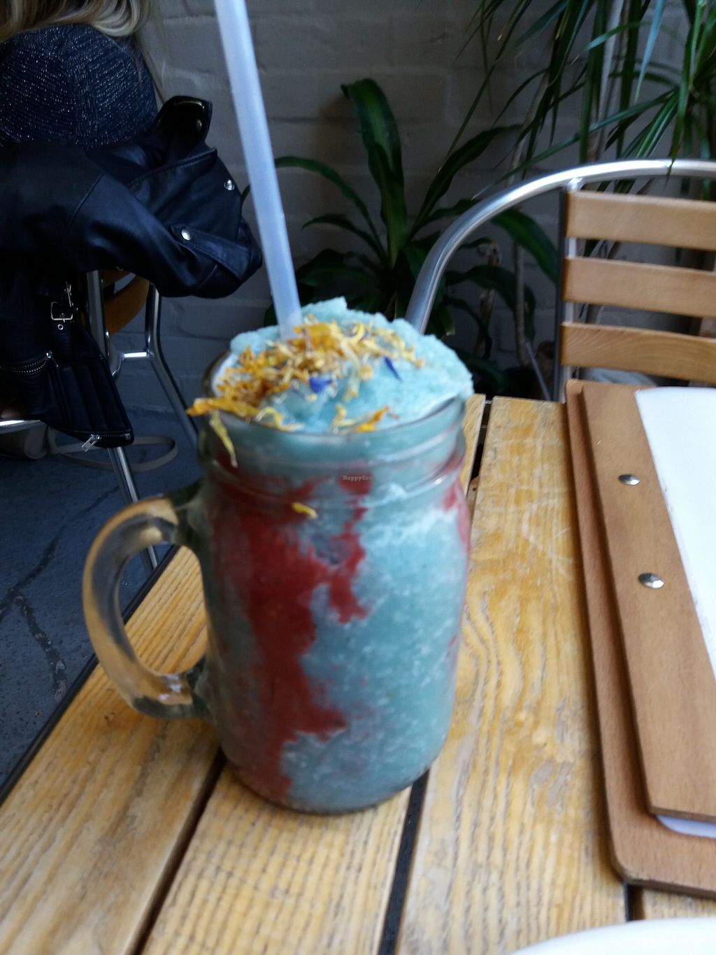 "Photo of Earth to Table  by <a href=""/members/profile/veganvirtues"">veganvirtues</a> <br/>Blue majik smoothie <br/> July 15, 2017  - <a href='/contact/abuse/image/35045/280498'>Report</a>"