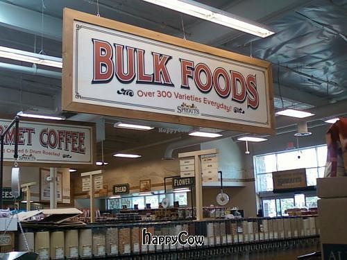 Photo of Sprouts Farmers Market  by jive <br/>Bulk food items <br/> May 21, 2013  - <a href='/contact/abuse/image/35102/48450'>Report</a>