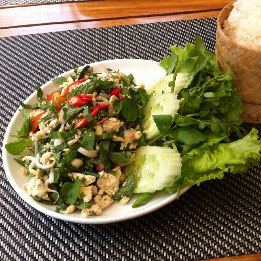 """Photo of Tamarind - A Taste of Laos  by <a href=""""/members/profile/Arvid"""">Arvid</a> <br/>Tofu Laap (35,000 kip) <br/> February 17, 2016  - <a href='/contact/abuse/image/35117/136676'>Report</a>"""
