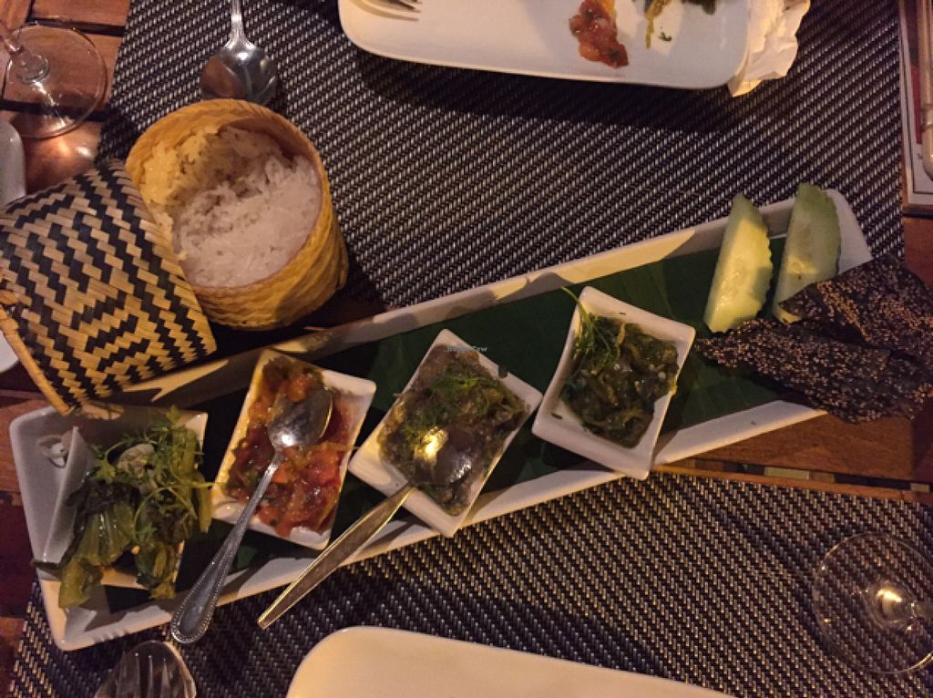 """Photo of Tamarind - A Taste of Laos  by <a href=""""/members/profile/Gillsabroad"""">Gillsabroad</a> <br/>vegetarian tasting platter  <br/> July 27, 2016  - <a href='/contact/abuse/image/35117/162619'>Report</a>"""