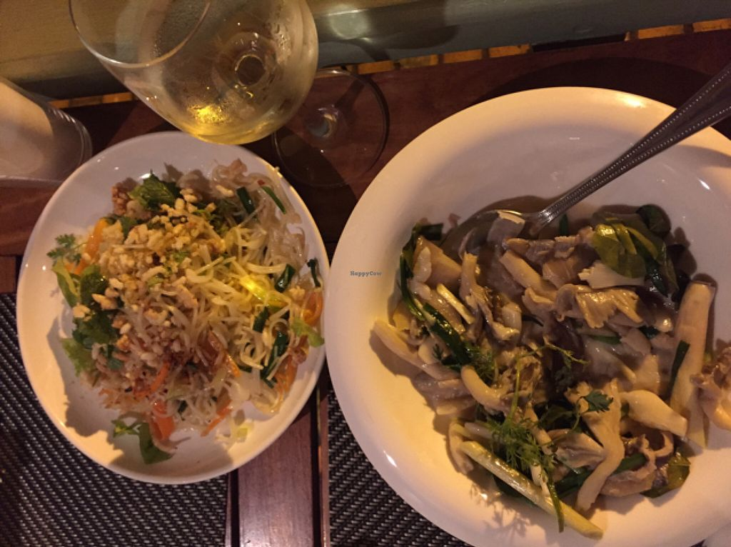 """Photo of Tamarind - A Taste of Laos  by <a href=""""/members/profile/Gillsabroad"""">Gillsabroad</a> <br/>stir fried mushrooms & noodles <br/> July 27, 2016  - <a href='/contact/abuse/image/35117/162620'>Report</a>"""