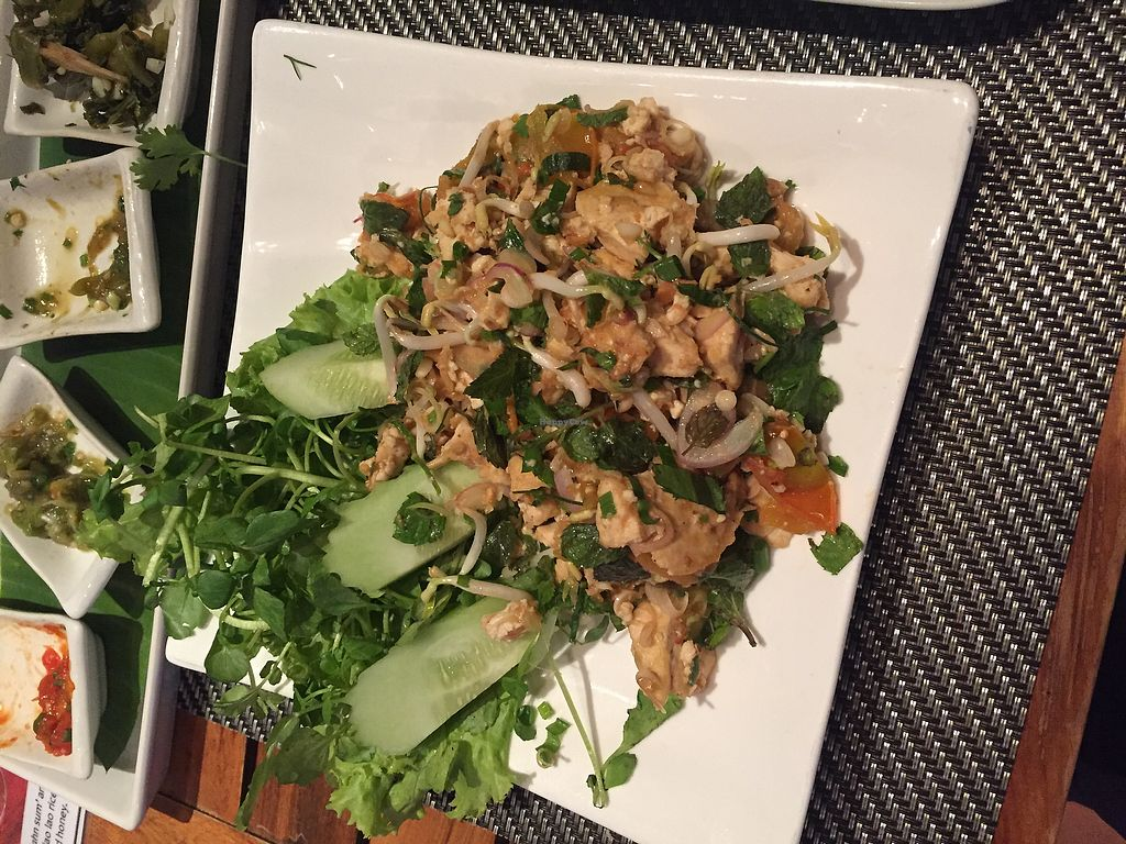 """Photo of Tamarind - A Taste of Laos  by <a href=""""/members/profile/fengmanyi"""">fengmanyi</a> <br/>tofu laap <br/> July 18, 2017  - <a href='/contact/abuse/image/35117/281713'>Report</a>"""