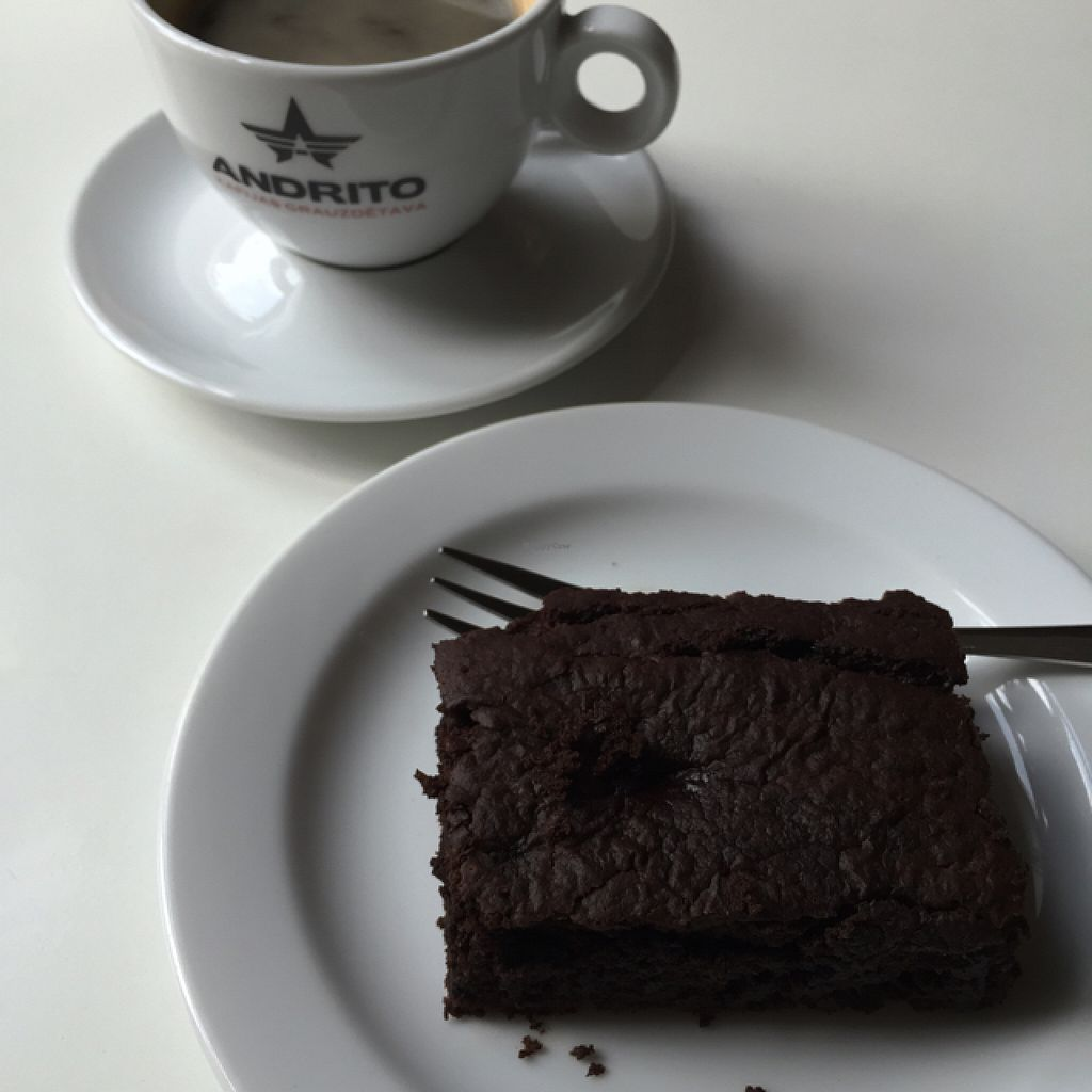 """Photo of MiiT  by <a href=""""/members/profile/TheEverydayVegan"""">TheEverydayVegan</a> <br/>vegan brownie & great coffee <br/> August 9, 2015  - <a href='/contact/abuse/image/35136/112884'>Report</a>"""
