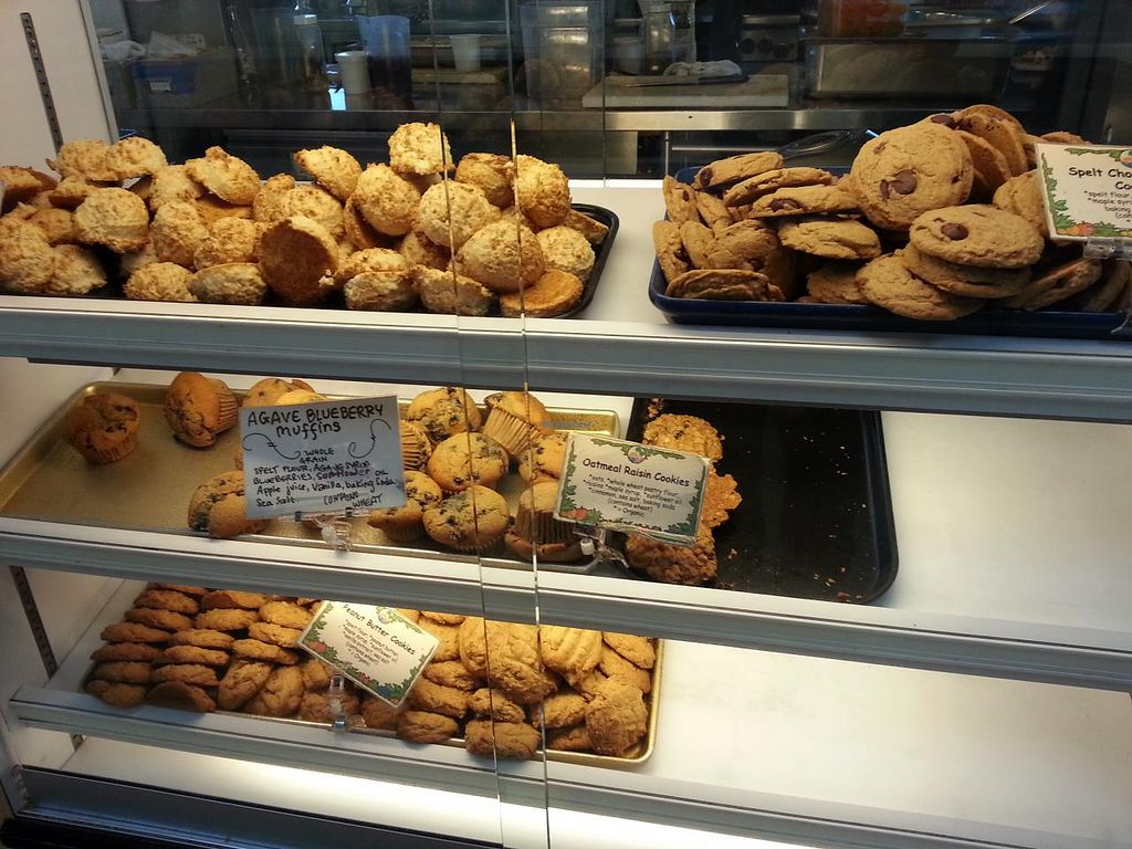 """Photo of Ocean Beach People's Organic Foods Deli  by <a href=""""/members/profile/eric"""">eric</a> <br/>vegan baked goods <br/> March 16, 2014  - <a href='/contact/abuse/image/35144/66063'>Report</a>"""