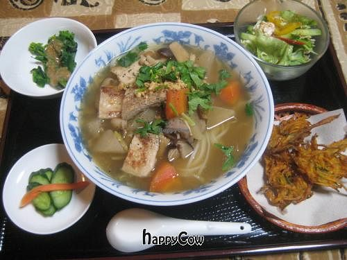 """Photo of Nikoniko Restaurant  by <a href=""""/members/profile/oriental%20smily%20veg"""">oriental smily veg</a> <br/>Thai style noodle set <br/> November 6, 2012  - <a href='/contact/abuse/image/35145/39929'>Report</a>"""