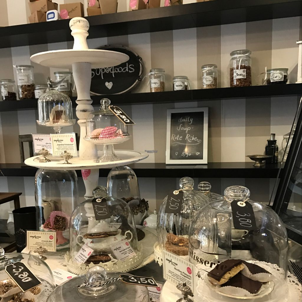 """Photo of Simply Raw Bakery and Bistro  by <a href=""""/members/profile/Ghanimalsulaiti"""">Ghanimalsulaiti</a> <br/>the best raw vegan food in Vienna  <br/> January 26, 2017  - <a href='/contact/abuse/image/35149/217039'>Report</a>"""