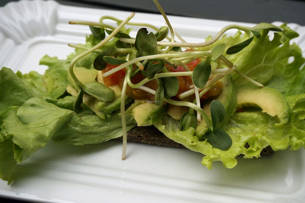 """Photo of Simply Raw Bakery and Bistro  by <a href=""""/members/profile/Ricardo"""">Ricardo</a> <br/>Avocado Bread <br/> April 1, 2018  - <a href='/contact/abuse/image/35149/379519'>Report</a>"""