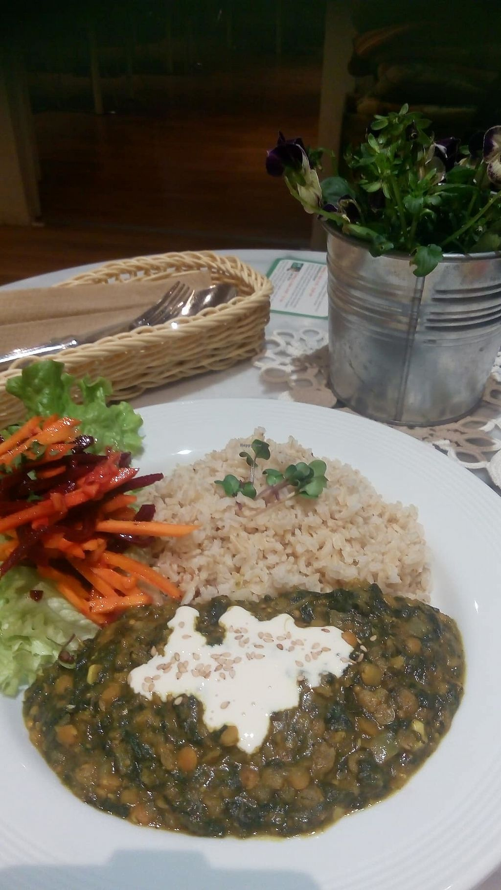 """Photo of Lesecafe Anstandig essen  by <a href=""""/members/profile/vegan.goddammit"""">vegan.goddammit</a> <br/>Sri Lanka dhal <br/> March 25, 2018  - <a href='/contact/abuse/image/35157/375759'>Report</a>"""