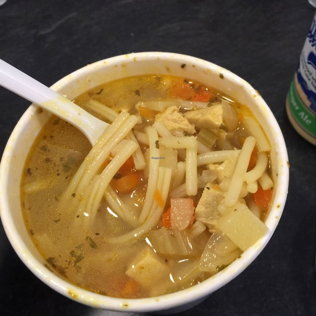 """Photo of Blossom Du Jour - Midtown  by <a href=""""/members/profile/LauraOehlerBouchy"""">LauraOehlerBouchy</a> <br/>Unchicken Noodle Soup <br/> December 13, 2015  - <a href='/contact/abuse/image/35196/128193'>Report</a>"""
