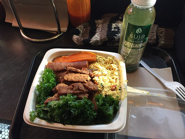 """Photo of Blossom Du Jour - Midtown  by <a href=""""/members/profile/Ashni"""">Ashni</a> <br/>breakfast bowl and Suja juice <br/> November 20, 2017  - <a href='/contact/abuse/image/35196/327405'>Report</a>"""