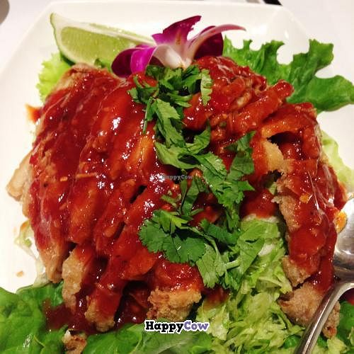 """Photo of CLOSED: Jing Ping Thai  by <a href=""""/members/profile/sleggat"""">sleggat</a> <br/>Thai-style chicken 椒麻雞 <br/> December 19, 2013  - <a href='/contact/abuse/image/35204/60568'>Report</a>"""