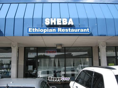 "Photo of Sheba Ethiopian Restaurant  by <a href=""/members/profile/kenvegan"">kenvegan</a> <br/>Sheba Ethiopian Restaurant entrance <br/> September 26, 2013  - <a href='/contact/abuse/image/35212/55759'>Report</a>"