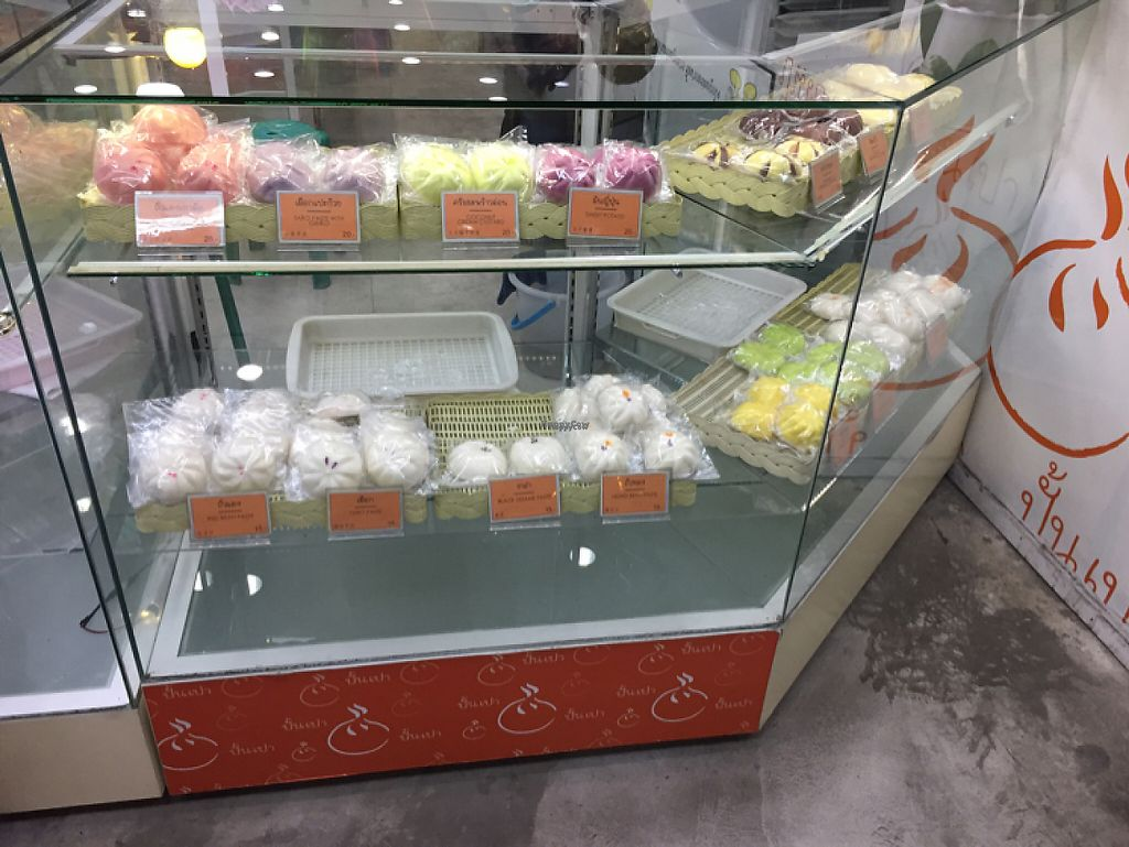 """Photo of Pun-Pao Steamed Buns  by <a href=""""/members/profile/nlukas51"""">nlukas51</a> <br/>Veg options <br/> January 22, 2017  - <a href='/contact/abuse/image/35214/214541'>Report</a>"""