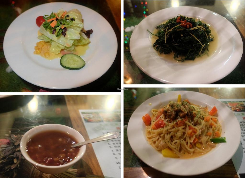 """Photo of Lavender Garden  by <a href=""""/members/profile/JesseD"""">JesseD</a> <br/>At 560NT this was the most insipid and almost the most expensive meal I've had in Taipei. This could get a feast at a better restaurant or a dinner at an all-you-can-eat buffet <br/> April 2, 2015  - <a href='/contact/abuse/image/35215/97624'>Report</a>"""