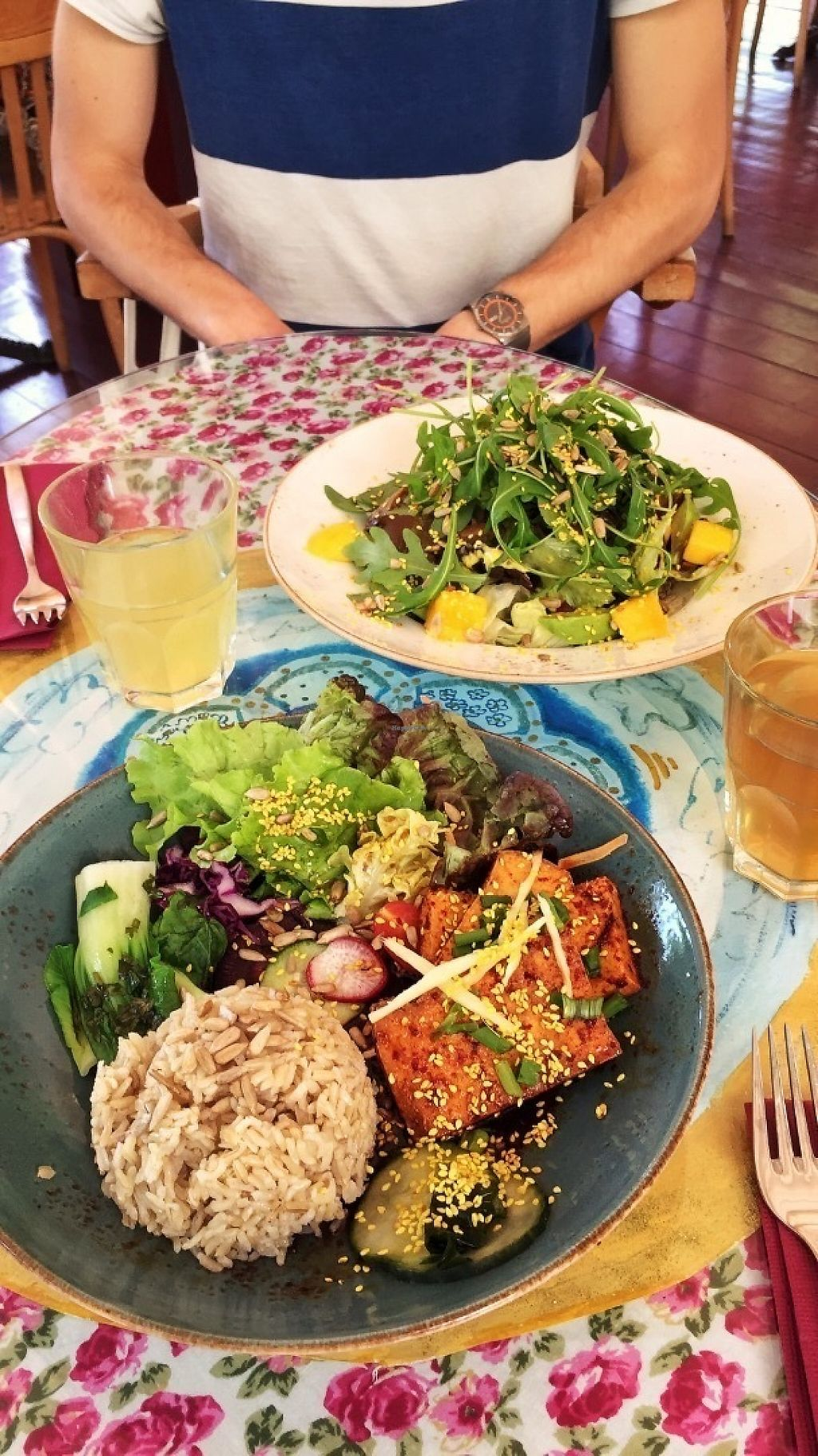"Photo of PSI  by <a href=""/members/profile/kitchendates"">kitchendates</a> <br/>Korean Tofu Bowl + Ayurvedic Salad <br/> May 14, 2017  - <a href='/contact/abuse/image/3522/258651'>Report</a>"