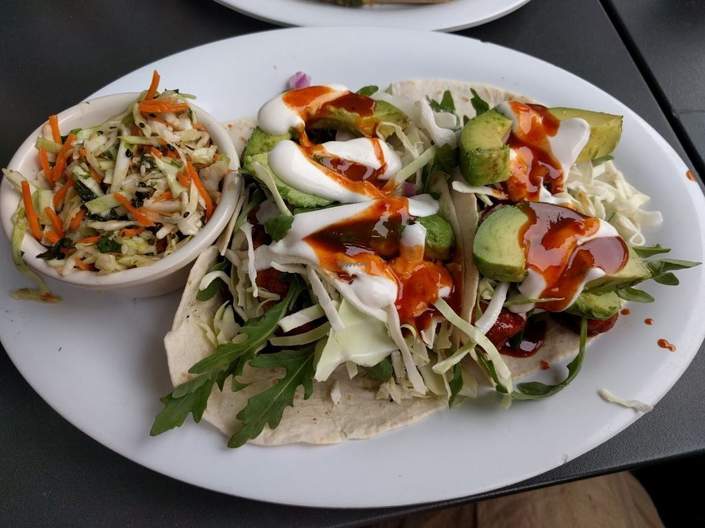 "Photo of Veggie Grill  by <a href=""/members/profile/Sonja%20and%20Dirk"">Sonja and Dirk</a> <br/>Korean tacos <br/> July 28, 2016  - <a href='/contact/abuse/image/35243/162812'>Report</a>"