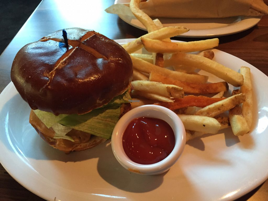"Photo of Veggie Grill  by <a href=""/members/profile/Eyal87"">Eyal87</a> <br/>Super Rica Burger <br/> April 19, 2017  - <a href='/contact/abuse/image/35243/249792'>Report</a>"