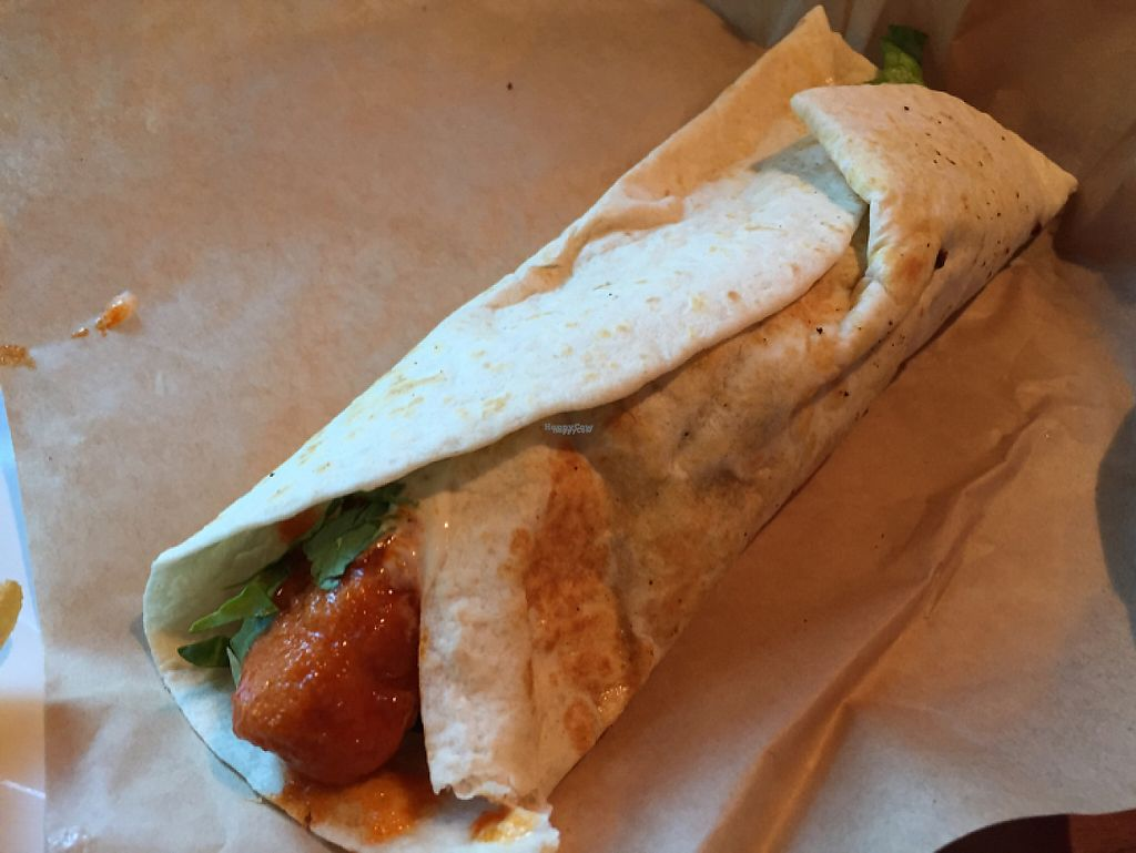"Photo of Veggie Grill  by <a href=""/members/profile/Eyal87"">Eyal87</a> <br/>Buffalo Mini Wrap <br/> April 19, 2017  - <a href='/contact/abuse/image/35243/249794'>Report</a>"