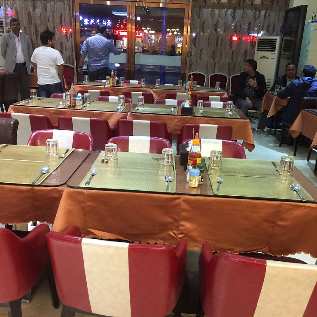"""Photo of Zaikaa  by <a href=""""/members/profile/vegannomad2"""">vegannomad2</a> <br/>typical Indian restaurant <br/> November 28, 2016  - <a href='/contact/abuse/image/35249/195357'>Report</a>"""