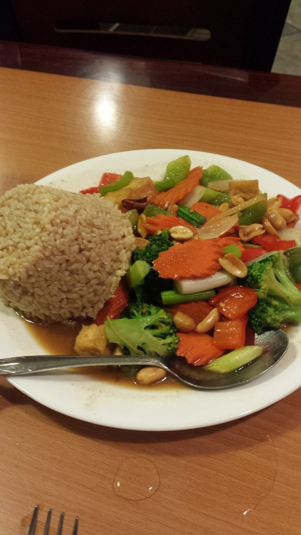 """Photo of CLOSED: The Vegan Joint - Hollywood  by <a href=""""/members/profile/arb84820"""">arb84820</a> <br/>Kung pao <br/> July 29, 2016  - <a href='/contact/abuse/image/35252/163037'>Report</a>"""