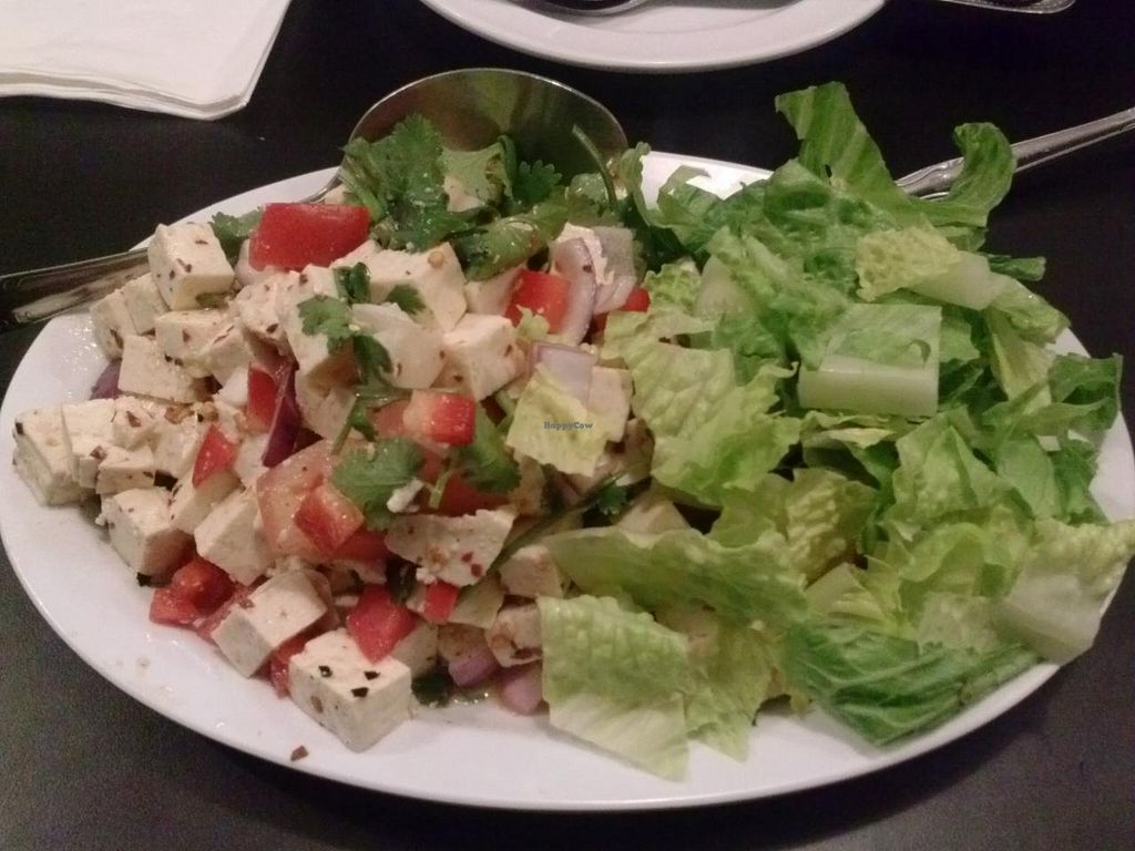 """Photo of CLOSED: The Vegan Joint - Hollywood  by <a href=""""/members/profile/Sonja%20and%20Dirk"""">Sonja and Dirk</a> <br/>larb salad <br/> May 2, 2014  - <a href='/contact/abuse/image/35252/69146'>Report</a>"""