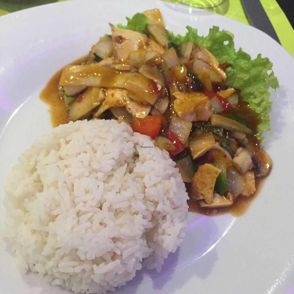 "Photo of Vegebowl  by <a href=""/members/profile/JustineHsu"">JustineHsu</a> <br/>stir fried tofu <br/> November 20, 2015  - <a href='/contact/abuse/image/35256/125573'>Report</a>"