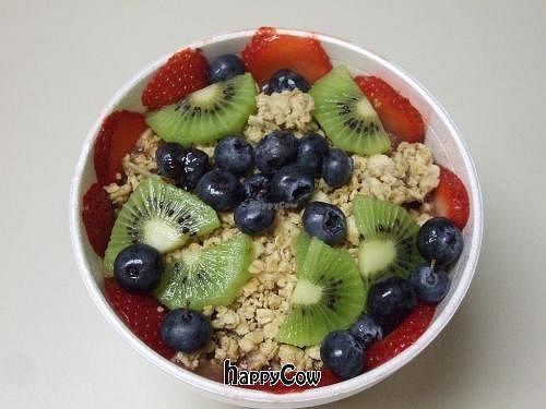 """Photo of CLOSED: Cold Fusion Fruit and Veggie Bar  by <a href=""""/members/profile/warmartin"""">warmartin</a> <br/>Power Punch Bowl at Cold Fusion! Awesome! <br/> November 18, 2012  - <a href='/contact/abuse/image/35257/40399'>Report</a>"""