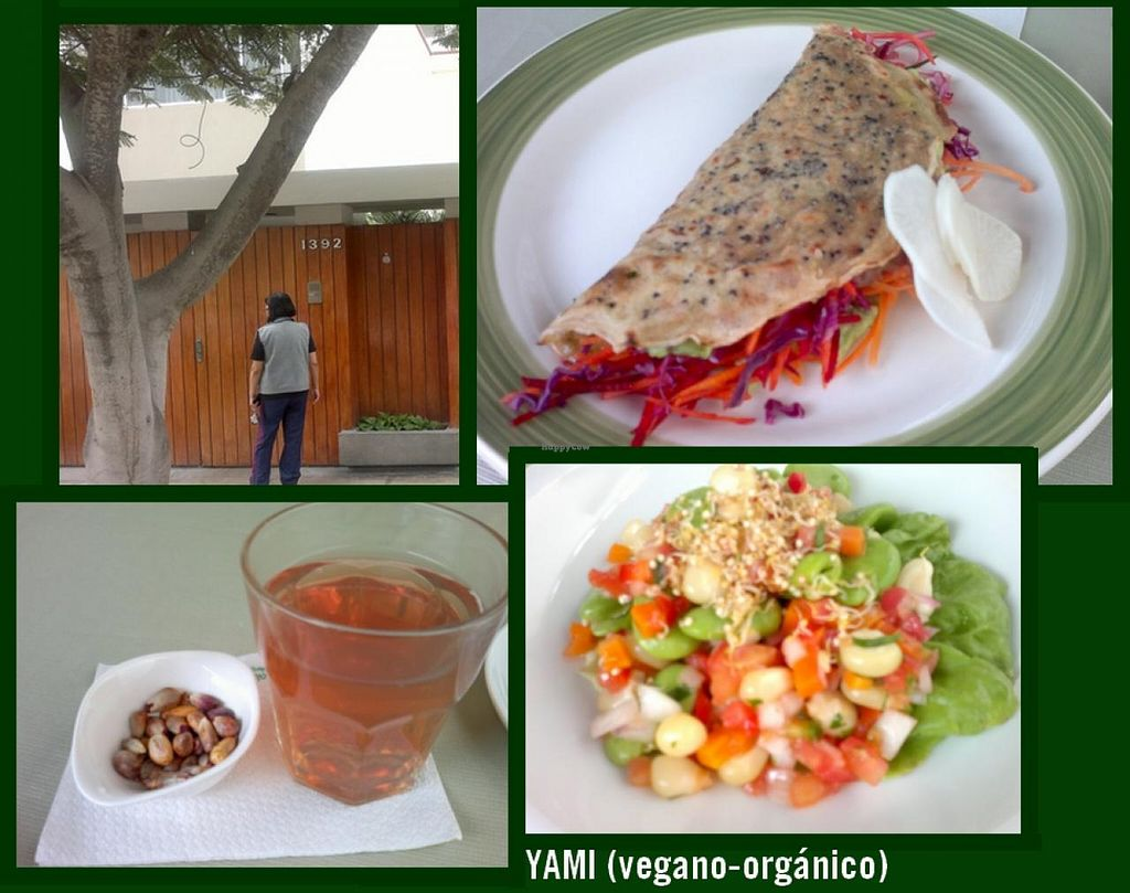 """Photo of Yami  by <a href=""""/members/profile/Patapompon"""">Patapompon</a> <br/>My menu at Yami on July 3rd, 2015: solterito vegano and taco vegano. Healthy and tasty! <br/> July 7, 2015  - <a href='/contact/abuse/image/35261/108455'>Report</a>"""