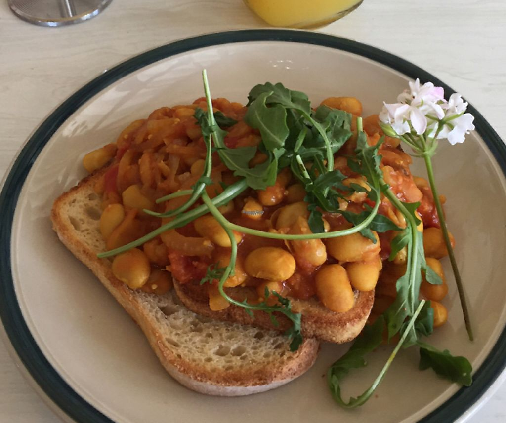 "Photo of The Good Loaf Sourdough Bakery and Cafe  by <a href=""/members/profile/vegies28"">vegies28</a> <br/>Indian beans on sourdough toast <br/> January 1, 2017  - <a href='/contact/abuse/image/35272/256056'>Report</a>"