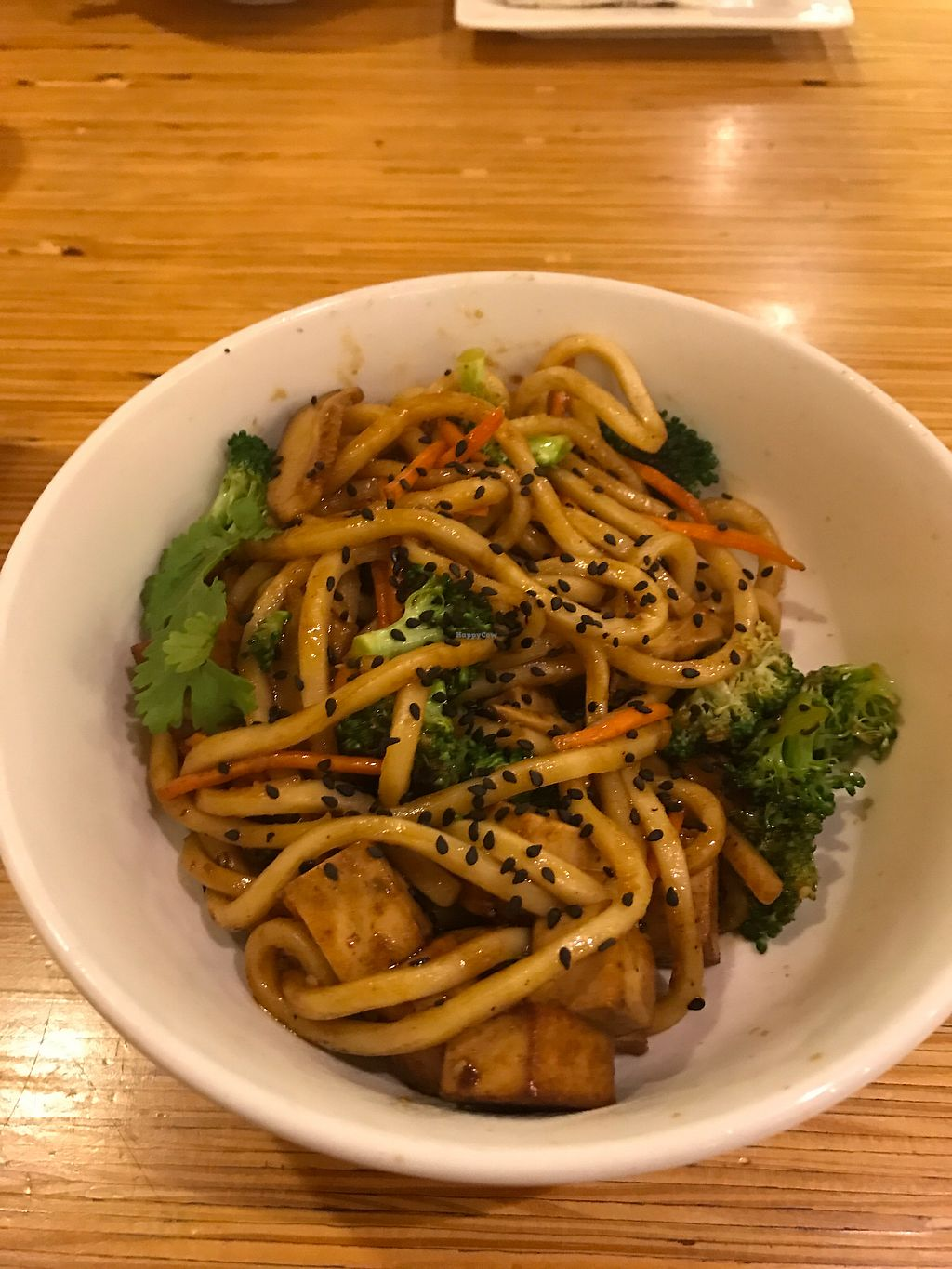 """Photo of Noodles and Company  by <a href=""""/members/profile/LER2017"""">LER2017</a> <br/>Japanese pan noodles (vegan) with tofu and extra broccoli  <br/> August 12, 2017  - <a href='/contact/abuse/image/35279/291765'>Report</a>"""