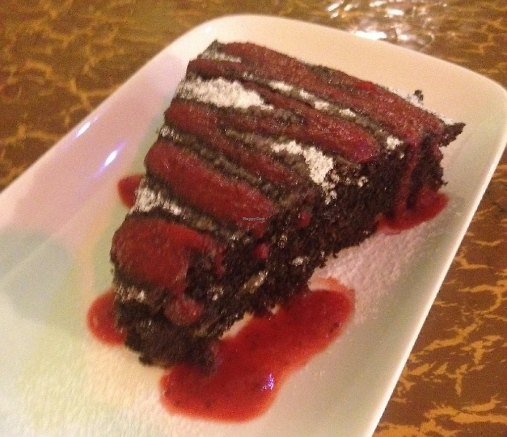 """Photo of Samadeva  by <a href=""""/members/profile/vegan_ryan"""">vegan_ryan</a> <br/>Brownie dessert <br/> May 28, 2016  - <a href='/contact/abuse/image/35294/243086'>Report</a>"""